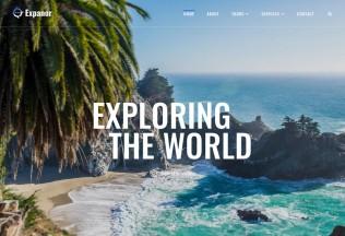 Expanor – Premium Responsive Travel Agency WordPress Theme