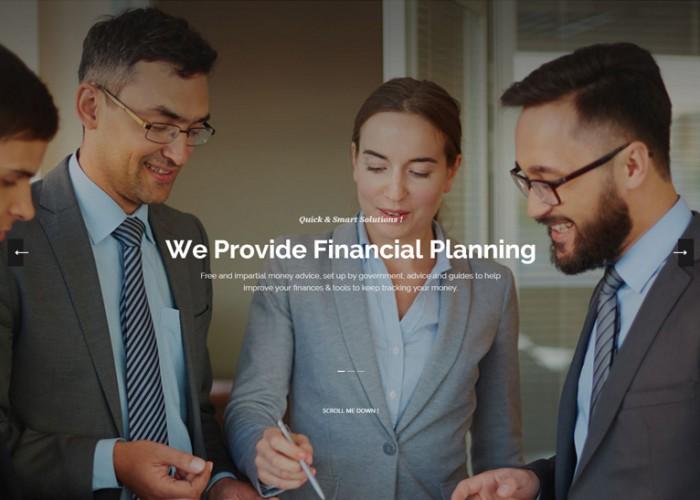 Experts – Premium Responsive WordPress Theme for Finance Firms