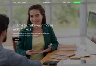 Exponent – Premium Responsive Business WordPress Theme
