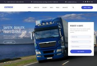 Express – Premium Responsive Transportation HTML5 Template