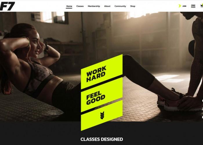 F7 – Premium Responsive Fitness Gym WordPress Theme
