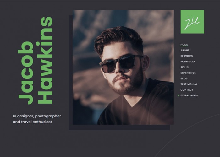 Fabius – Premium Responsive Resume WordPress Theme