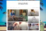 Falive – Premium Responsive Creative & Fashion Blog Drupal Theme