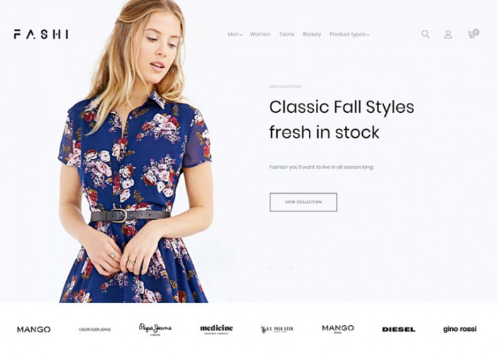 Fashi – Premium Responsive Fashion Boutique Magento 2 Theme