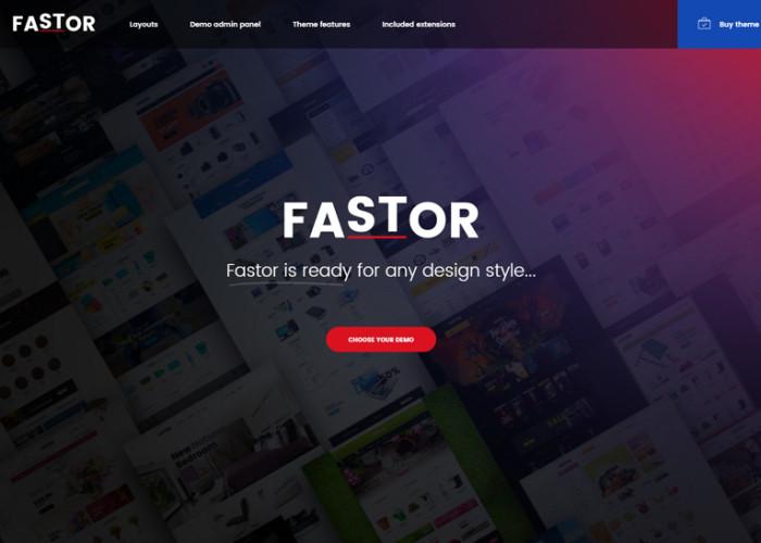 Fastor – Premium Responsive Multipurpose Opencart Theme
