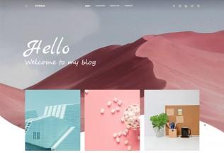 Fatima – Premium Responsive React Gatsby Blog HTML5 Template