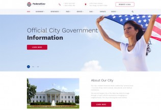 FederalGov – Premium Responsive Government HTML5 Template