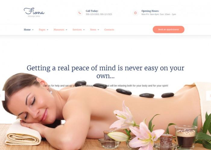 Fiona – Premium Responsive Beauty Spa & Massage Salon WordPress Theme