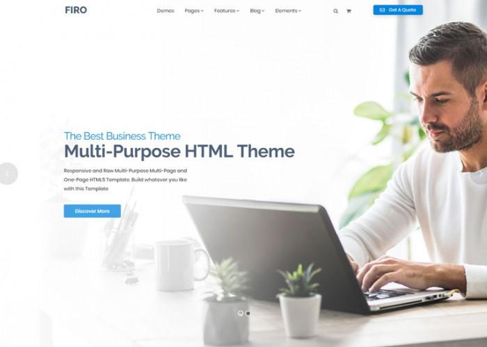 Firo – Premium Responsive Multipurpose HTML5 Template