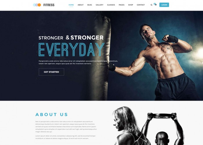 Fitness – Premium Responsive Gym & Yoga WordPress Theme