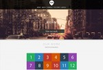 Flat & Clean – Premium One Page Parallax Muse Template