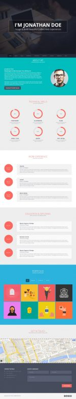 4 Best Responsive WordPress vCard Themes 2014