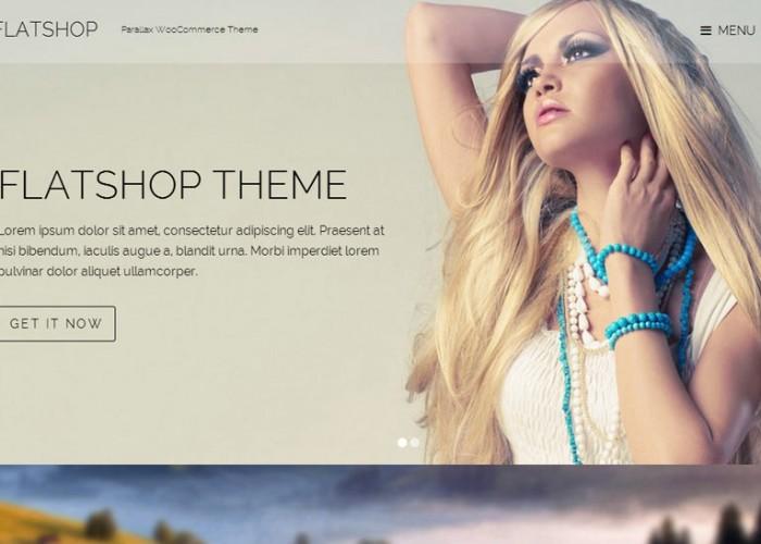 Flatshop – Premium Responsive WordPress WooCommerce Theme