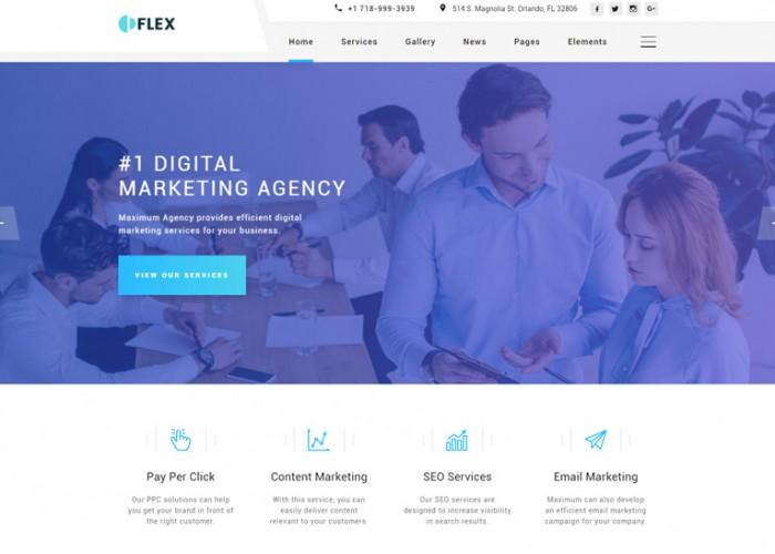 Flex – Premium Responsive Multipurpose HTML5 Template