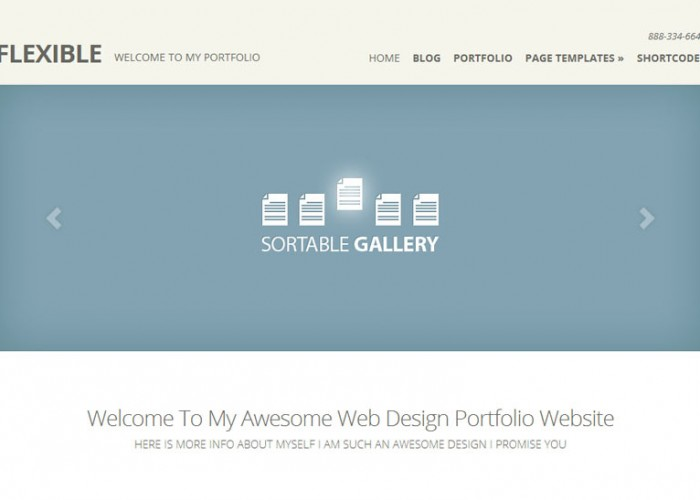 Flexible – WordPress Premium Responsive Theme