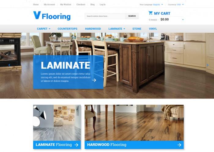 Flooring – Premium Responsive Magento Theme
