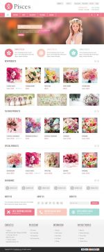 Best Responsive Flower Shop Prestashop Themes in 2014