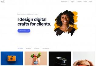Folio – Premium Responsive Creative React Portfolio HTML5 Template