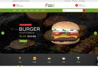 Food – Premium Responsive Food OpenCart Theme