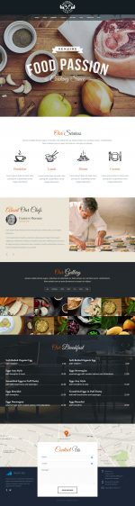 10 Best Responsive Food HTML5 Templates in 2015