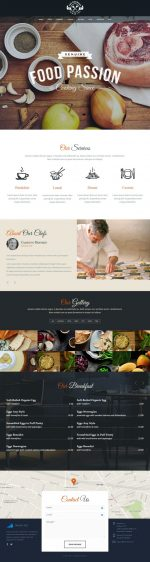 5+ Best Responsive Food HTML5 Templates in 2015