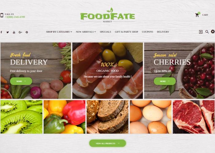 FoodFate – Premium Responsive Supermarket PrestaShop Theme