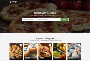 Foogra – Premium Responsive Restaurants Directory HTML5 Template