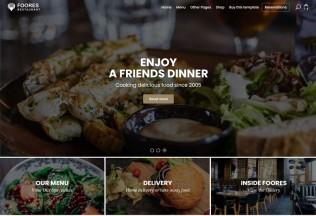 Foores – Premium Responsive Restaurant Site HTML5 Template