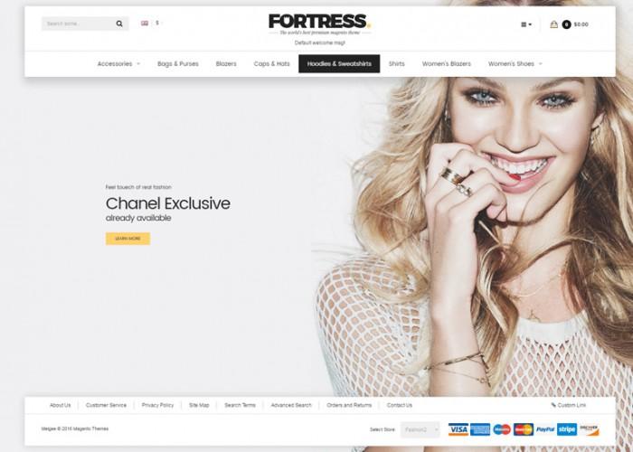 Fortress – Premium Responsive MultiPurpose Magento 1 & 2 Theme
