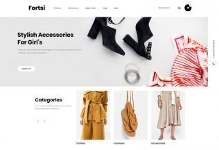 Fortsi – Premium Responsive Minimal Prestashop 1.7 Theme