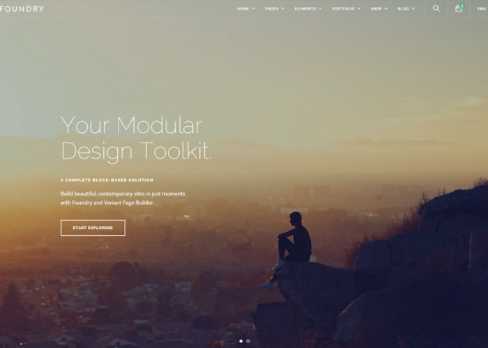 Foundry – Premium Responsive Multipurpose HTML5 Template + Variant Page Builder