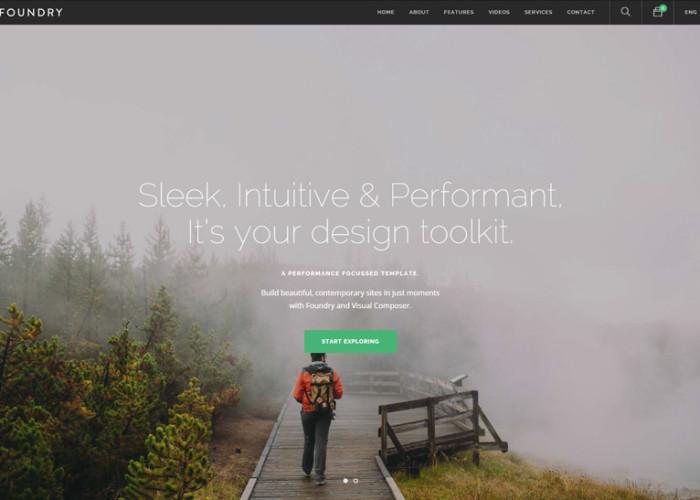 Foundry – Premium Responsive Multipurpose, Multi-Concept WordPress Theme