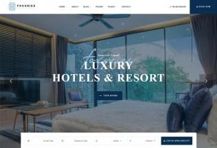 Foxuries – Premium Responsive Resort & Hotel WordPress Theme