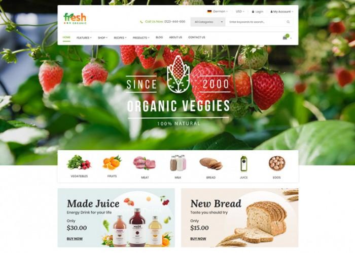 Fresh – Premium Responsive Multipurpose Magento 2 Theme