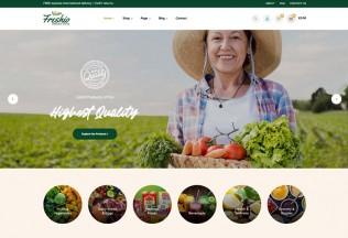 Freshio – Premium Responsive Organic Food Store WordPress Theme