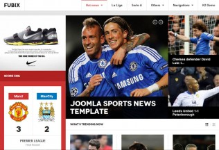 Fubix – Joomla Premium Responsive Template