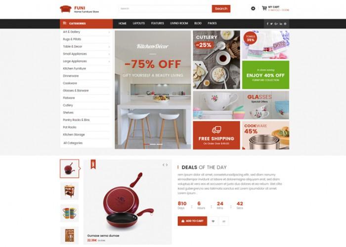 Funi – Premium Responisve Drag & Drop eCommerce OpenCart Theme