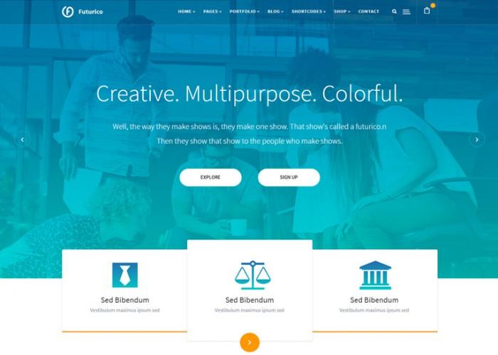 Futurico – Premium Responsive Multipurpose Joomla Template