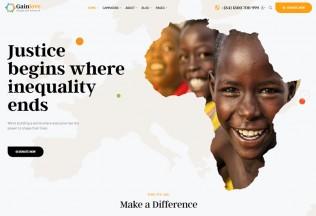 Gainlove – Premium Responsive Nonprofit WordPress Theme