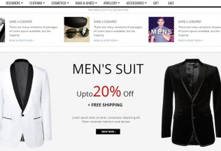 Gala Mr.Handsome – Premium Full Responsive Magento Fashion Theme