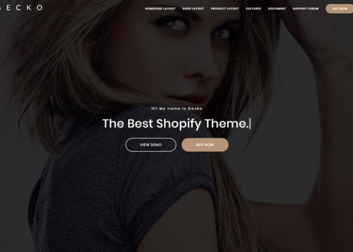 Gecko – Premium Responsive MultiPurpose Shopify Theme
