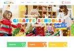 Giraffe – Premium Responsive Kindergarten Education WordPress Theme