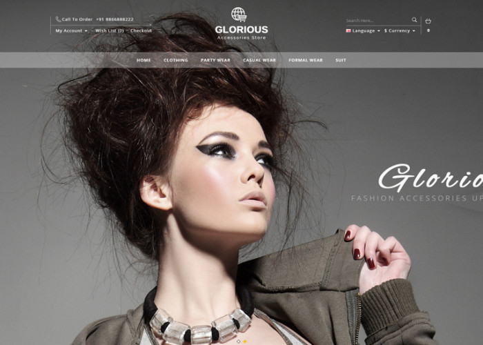 Glorious – Premium Responsive Opencart Theme