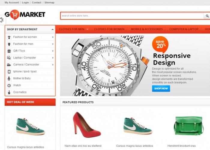 GoMarket – Premium Responsive PrestaShop Theme