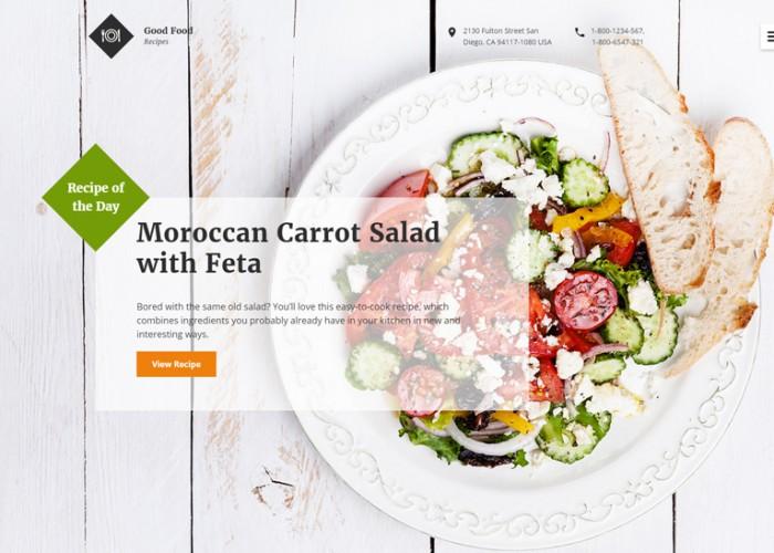 Good Food – Premium Responsive HTML5 Template