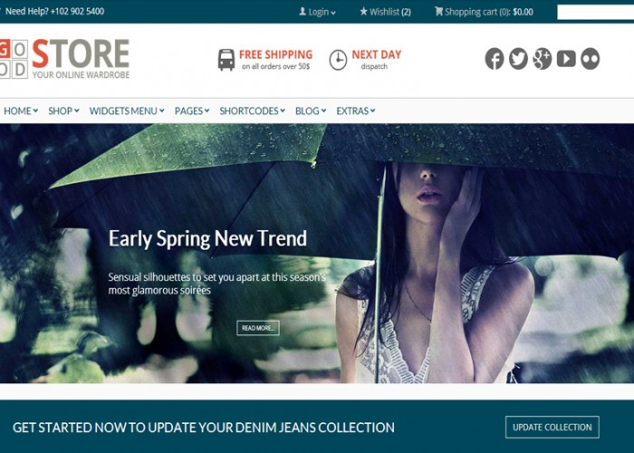 GoodStore – Premium Responsive WooCommerce WordPress Theme