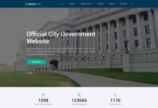 GoverFree – Premium Responsive Government HTML5 Template