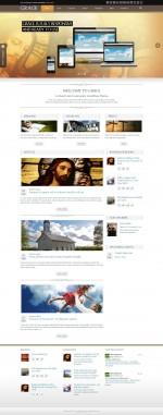 5+ Best Responsive Wordpress Church Themes 2013
