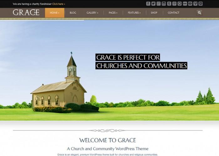 Grace – Premium Responsive Church WordPress Theme