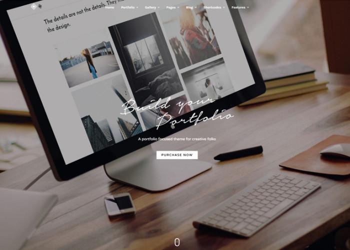 Grand Portfolio – Premium Responsive Portfolio WordPress Theme
